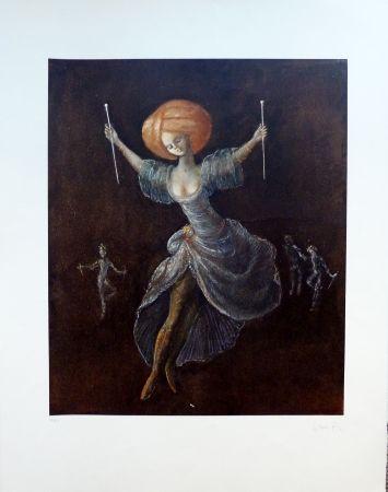 Lithograph Fini - Miracle aux Longues Aiguilles