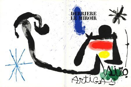 Illustrated Book Miró - MIRO - ARTIGAS, Terres de grand feu. Derrière le Miroir n° 139-140. Juin-Juillet 1963.