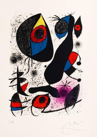 Lithograph Miró -   Miro a L'Encre