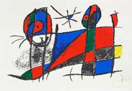 Lithograph Miró - Miro lithographe