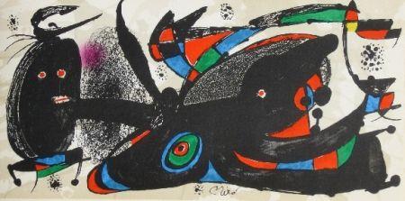 Lithograph Miró - Miro sculpteur, angleterre