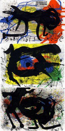 Illustrated Book Miró - MIRO. SOBRETEIXIMS ET SACS. Derrière le Miroir n° 203. Avril 1973.