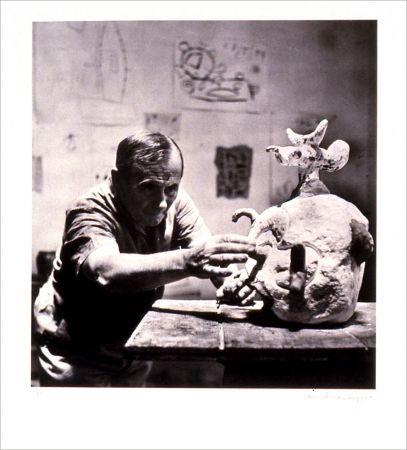 Lithograph Scheidegger - Miro traces d' une rencontre