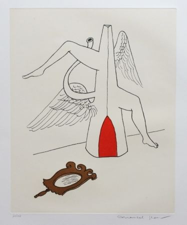 Etching And Aquatint Jean - Miroir