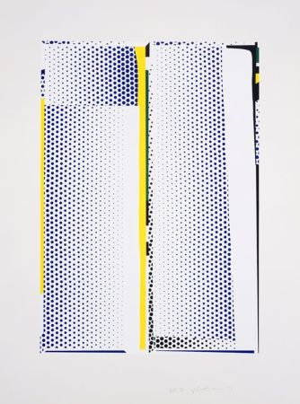 Screenprint Lichtenstein - Mirror #9
