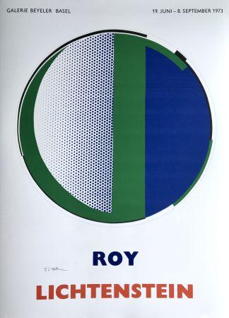 Screenprint Lichtenstein - 'Mirror' Hand Signed Pop Art Poster Print 1973