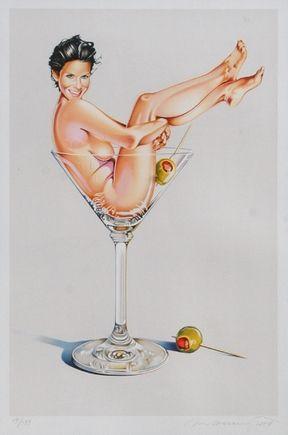 Lithograph Ramos - Miss Martini Ii