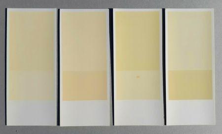 Lithograph Calderara - Misura, luce, colore