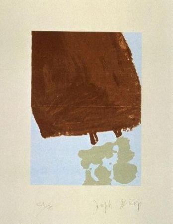 Aquatint Beuys - Mit Fett gefüllte Skulptur