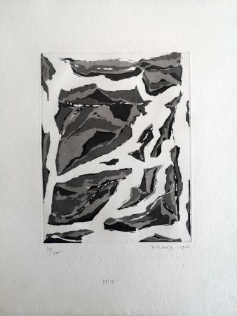 Aquatint Dorazio - Mix
