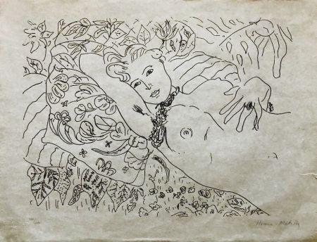 Lithograph Matisse - Modèle Couché 60x45 CAHIERS D'ART