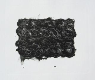 Lithograph Kounellis - MOD 3