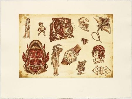 Engraving Lakra (Dr.) - Mod. 6