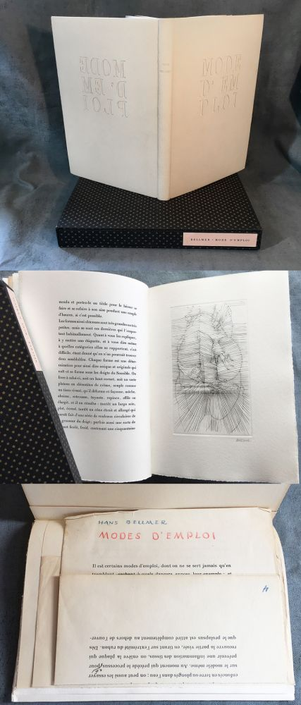 Illustrated Book Bellmer - MODE D'EMPLOI. 1967.