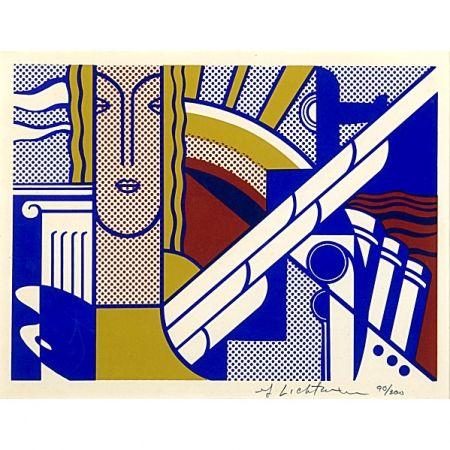 Screenprint Lichtenstein - Modern Art Poster