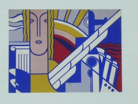 Screenprint Lichtenstein - Modern Art Poster,1967