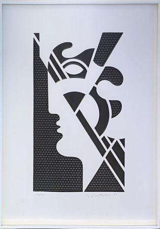 No Technical Lichtenstein - Modern Head #5