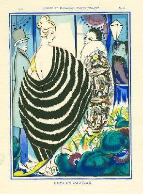 Illustrated Book Bonfils - MODES ET MANIÈRES D'AUJOURD' HUI. Neuvième Année. 1920