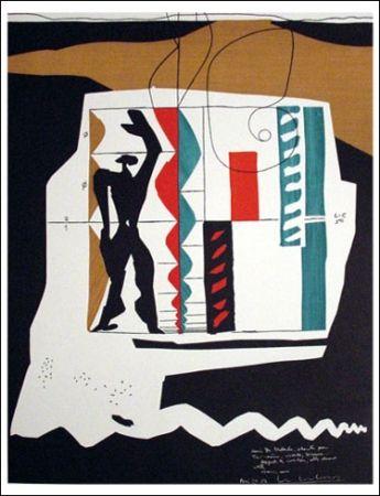 Lithograph Le Corbusier - Modular (1962)