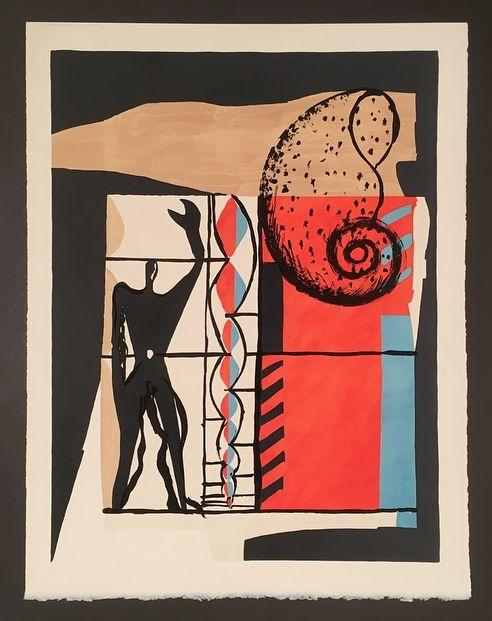 Lithograph Le Corbusier - Modulor (1955)