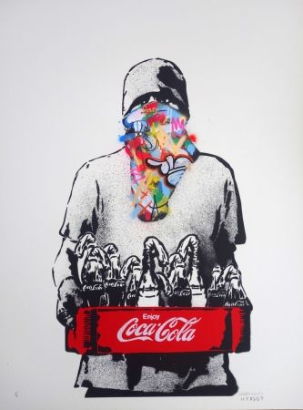 Screenprint Whatson - Molotov (collab. with Icy & Sot)