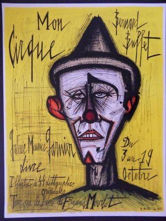 Lithograph Buffet - Mon Cirque - Le Clown