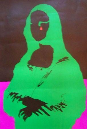 Poster Cieslewicz  - Mona lisa