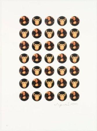 Lithograph Leirner - Mona Mona