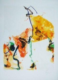 Lithograph En Jong - Monde imaginaiire II