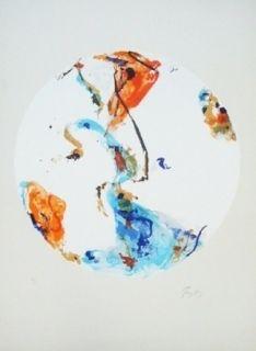 Lithograph En Jong - Monde Imaginaire I