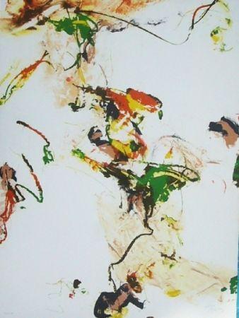 Lithograph En Joong - Monde imaginaire V