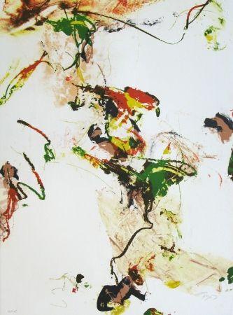 Lithograph En Joong - Monde imaginaire VII