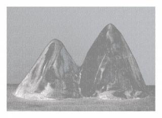 Numeric Print Lamm - Montagnes