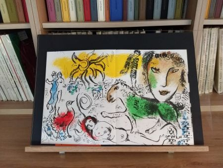 Illustrated Book Chagall - Monumental