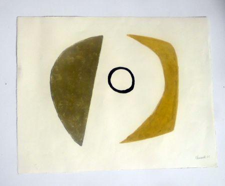 Lithograph Chadwick - Moon