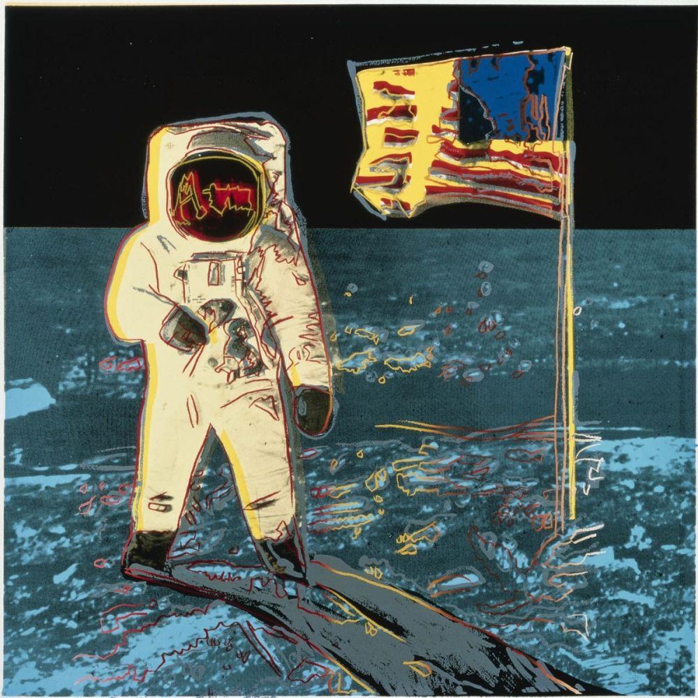 Screenprint Warhol - Moonwalk (FS II.404)