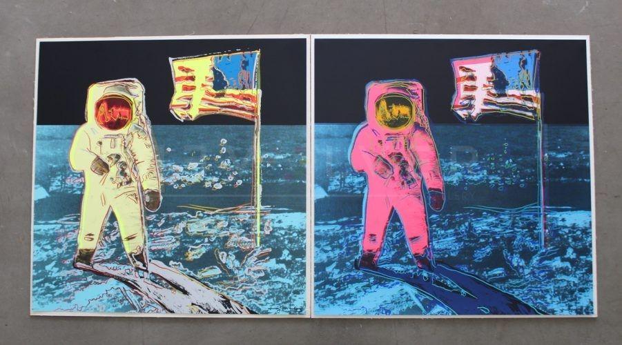 Screenprint Warhol - Moonwalk, Full Suite