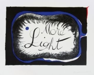 Lithograph Penrose - More light