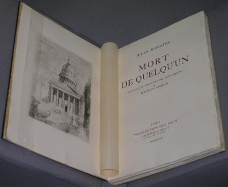 Illustrated Book Asselin - Mort de quelqu'un