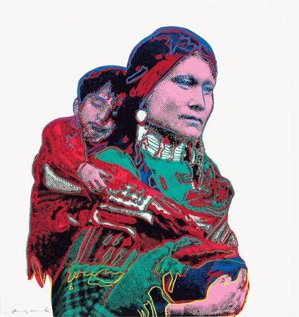 Screenprint Warhol - Mother and Child (FS II.383)