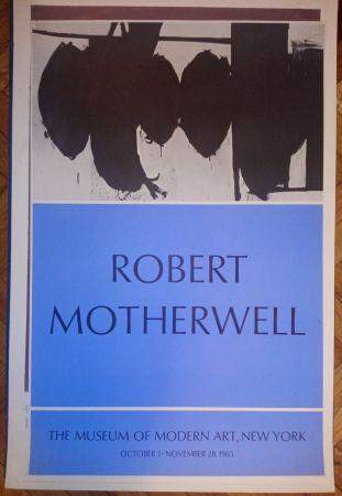Poster Motherwell - Motherwell Museum of Modern Art 1965