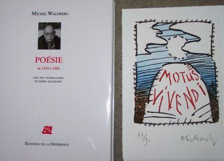 Etching Alechinsky - Motus vivendi