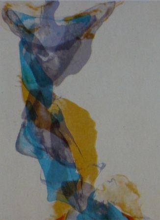Lithograph Baber - Mountain 2