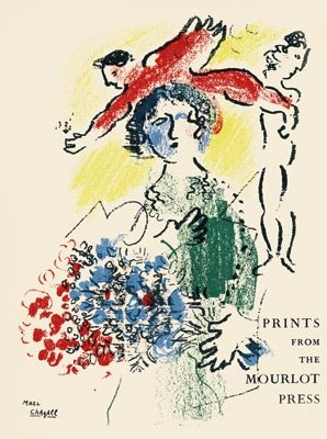 Lithograph Chagall - Mourlot I