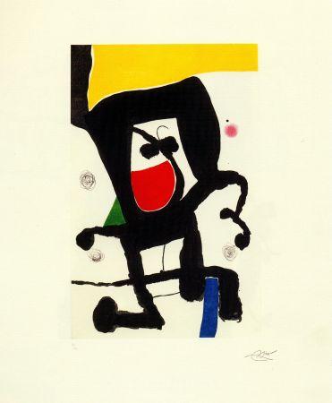 Etching Miró - Mousse dans les cordages