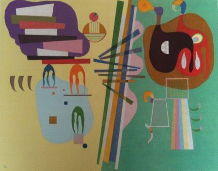 Lithograph Kandinsky - Mouvement