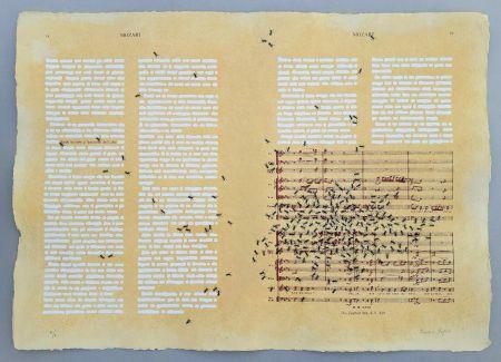 Screenprint Isgro - Mozart