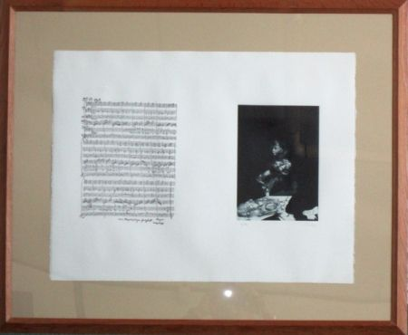 Etching Dado - Mozart la partition