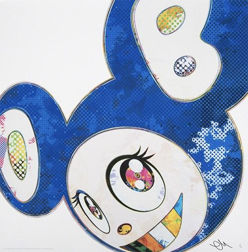 Offset Murakami - Mr DOB Blue – And Then Ultramarine