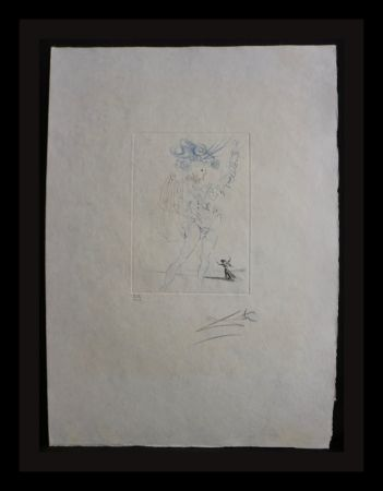 Etching Dali - Much ado About Shakespeare Measure for Measure